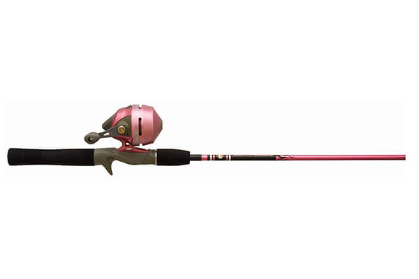 Zebco 202 Ladies Spin Cast 562M Fishing Rod and Reel Combo