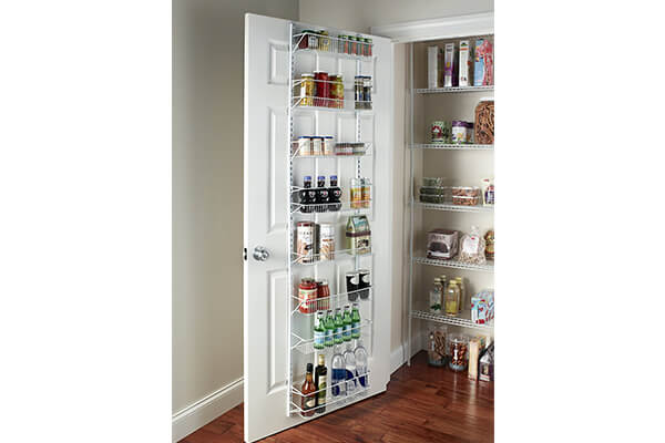 ClosetMaid 12.33 Adjustable 8-Tier Wall and Door Rack