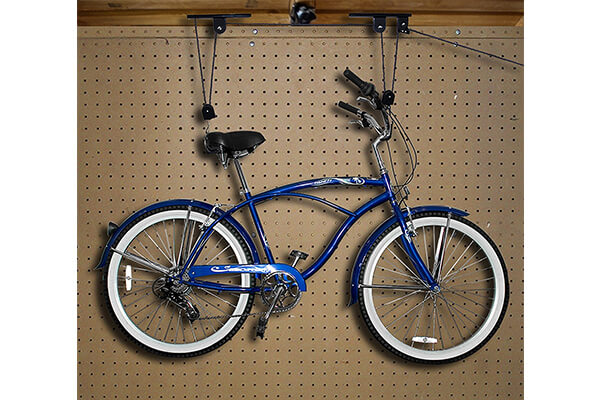 Best Choice Products 2 Bike Lilt Hanger Hoists Ceiling Garage Bicycle Puller Mount Storage Closet