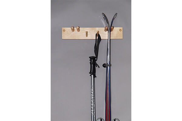 Ski Rack for 2 Pairs MADE IN USA