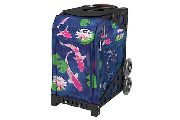 "ZUCA ""Koi Fish"" Sport Insert Bag with Frame"