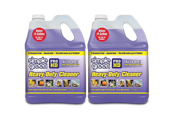 Simple Green SMP213421 Pro Hd Heavy Duty Cleaner (2 Pack of 1 Gallon Bottles)