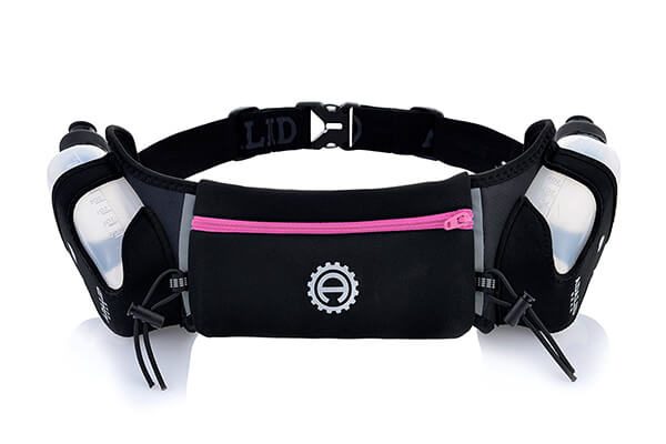 Hydration Belt for Running - Includes Accessories and Two 10-Ounce