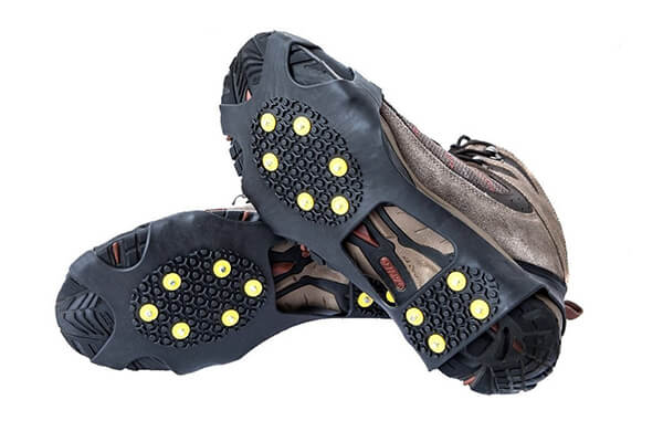 EONPOW Ice & Snow Grips Cleat Over Shoe/Boot Traction Cleat