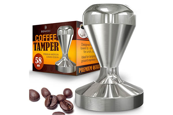 Benicci Espresso Coffee Tamper Quality Stainless Steel Tamper
