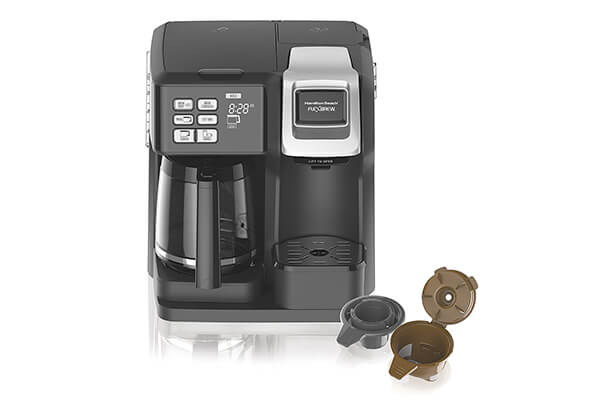 Hamilton Beach 49976 Flex brew 2-Way Brewer Programmable Coffee Maker