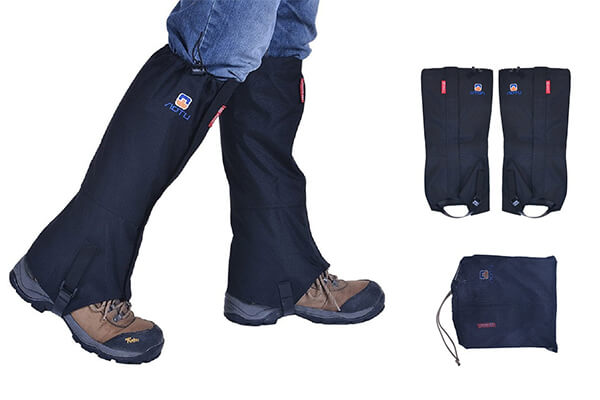 Tsonmall Hiking Gaiters Waterproof Breathable Snow Gaiters
