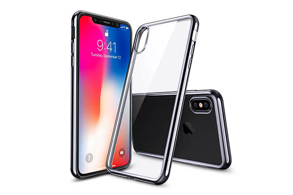 iPhone X Case, iPhone 10 Case, ESR Clear Flexible Soft Gel TPU Cover
