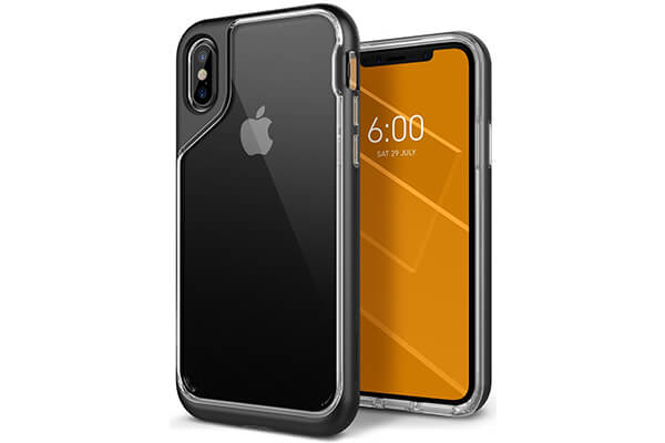 iPhone X Case, Caseology [Skyfall Series] Slim Transparent Clear Scratch Cover