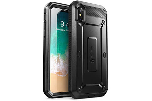 iPhone X Case, SUPCASE Full-body Rugged Holster Case