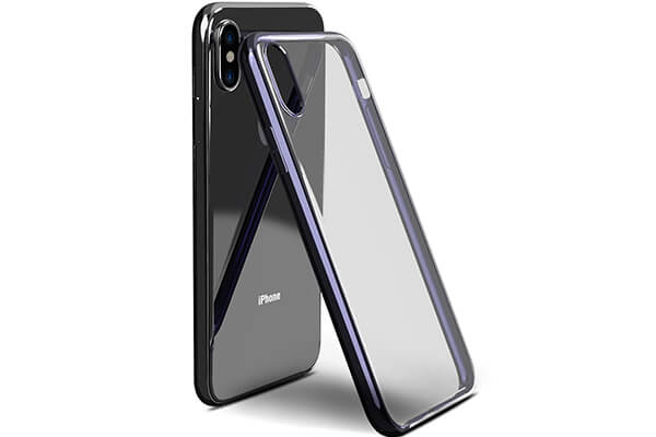 TOZO for iPhone X Case, Clear Soft TPU Gel Skin slim Soft Protective Cover
