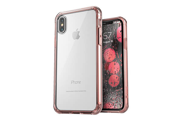 Jaagd iPhone X Case, iPhone X Cases, Hybrid Shock Modern Cellphone cover