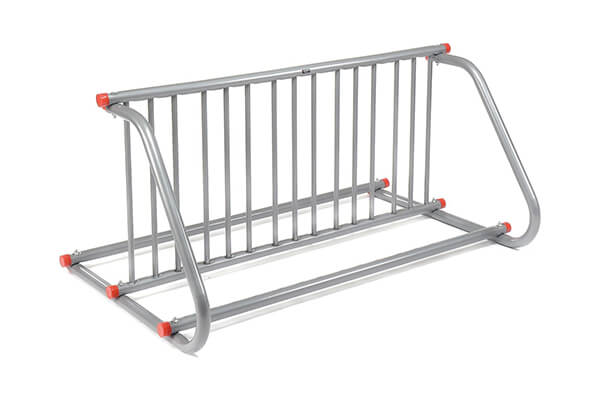 Grid Bike Rack, Double Sided, 10-Bike Capacity Bike stand