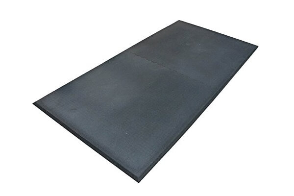 Humane SHOK-LOK Anti-Shock Rubber Deadlift Mat
