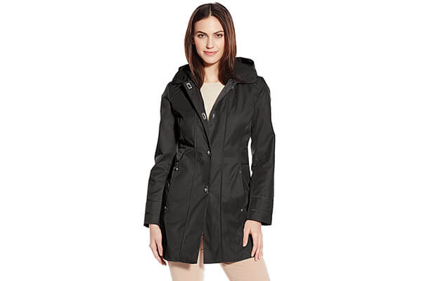 Anne Klein Women's Turn-Key Raincoat