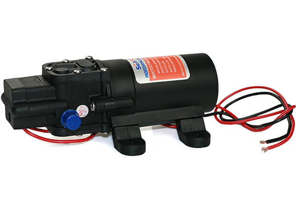 Seaflo Water Pressure Pump 12V DC 1.2 GPM 35 PSI 21 Series Diaphragm for Caravan RV Marine Fishing Boat