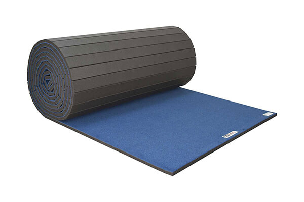 Cheerleading/Gymnastics Roll Mats Blue