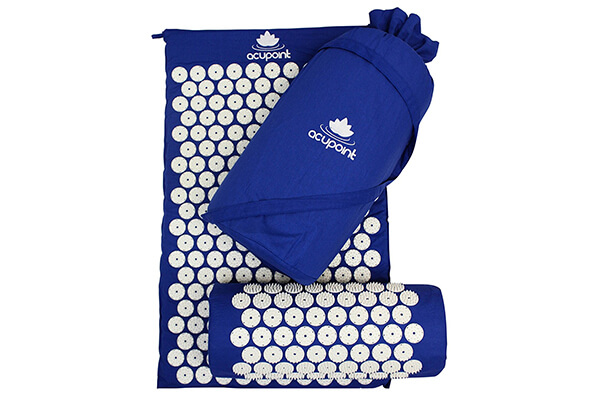 Acupressure Mat and Pillow Set by Acupoint Mat