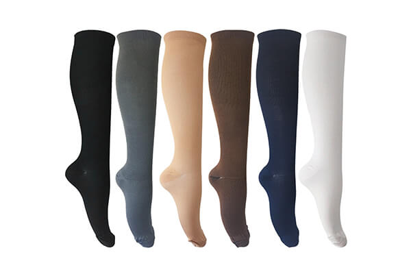 6 Pairs of Compression Socks for Men and Women Unisex