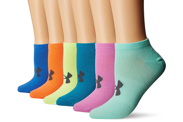 Under Armour Women's Essential No Show Liner Socks