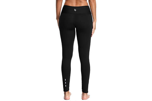 Sociala Women's High Waist Yoga Pants Tummy Control Running Leggings with Pocket