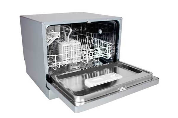 EdgeStar Countertop Portable Dishwasher for 6 Place Settings