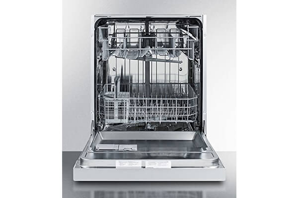 "Dishwasher 23.5"" Built-In Countertop Stainless Steel Euro Kitchen Appliance"