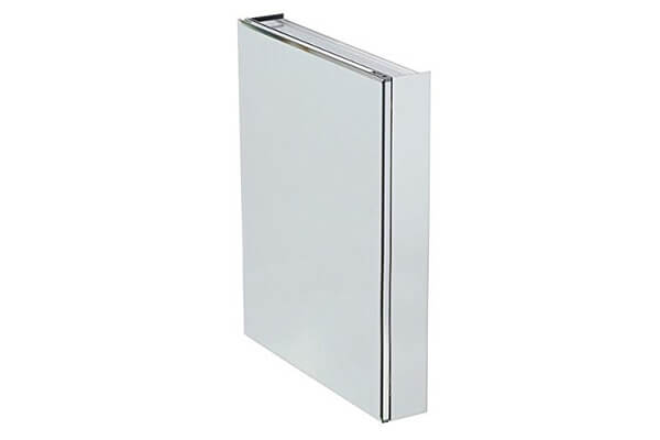 Pegasus 24-inch x 30-inch Recessed or Surface Mount Medicine Cabinet with Silver Beveled Mirror (5 x 30 x 24)