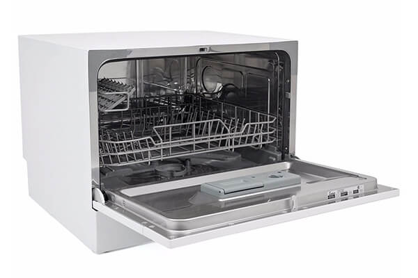 Countertop Dishwasher white Energy Star Apartment Dish Washer