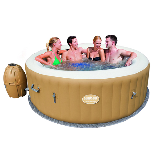2. SaluSpa Palm Springs AirJet Inflatable 6-Person Hot Tub