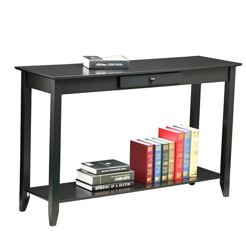 Yaheetech 2 Tiers Concepts Console Table with Drawer