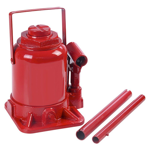 20 Ton Hydraulic Bottle Jack Low Profile Automotive Shop Axle Jack Hoist Lift