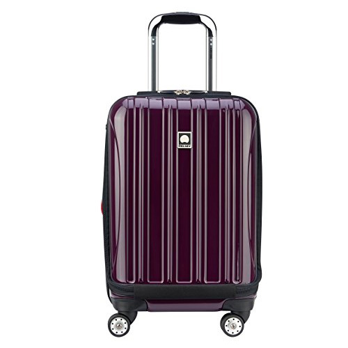 Desley Luggage HeliumAero International Carry on Expandable Spinner trolley Bag