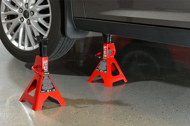 Top 10 Best Jack Stands for Heavy Duty Trucks in 2019 Review