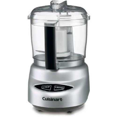 Cuisinart DLC-2ABC Mini-Prep Plus Food Processor Brushed Chrome and Nickel