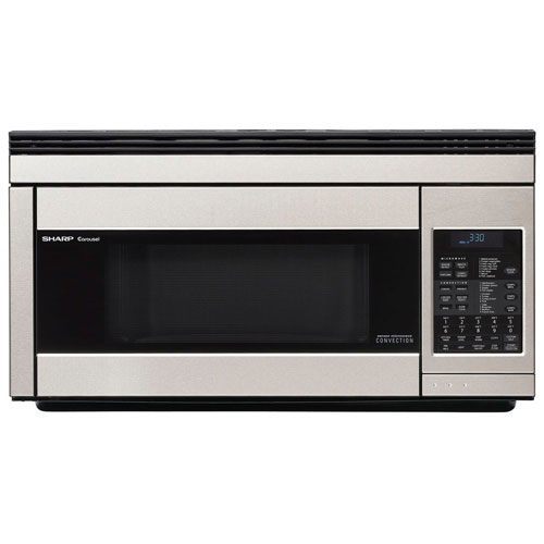 5. Sharp R1874T 850W Over-the-Range Convection Microwave, 1.1 Cubic Feet, Stainless Steel