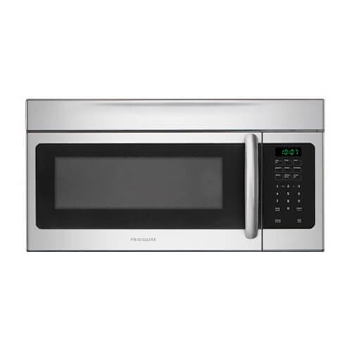 10. Frigidaire FFMV164LS 1.6 cu. Ft. Over-the-Range Microwave Oven