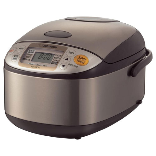 Zojirushi NS-TSC10 5-1/2-Cup (Uncooked) Micom Rice Cooker and Warmer
