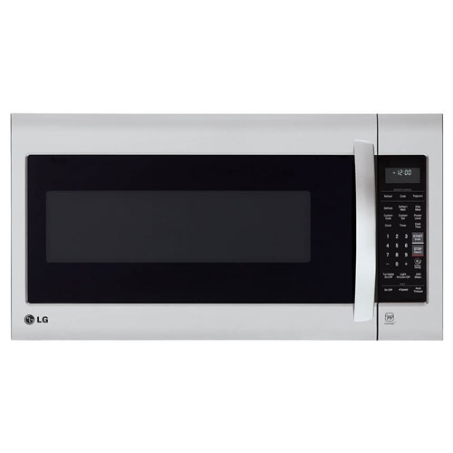 3. LG LMV2031ST 2.0 Cubic Feet Over-The-Range Microwave Oven, Stainless Steel