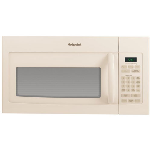 8. 1.6 Cu. Ft. 1000W Over-the-Range Microwave Color: Bisque