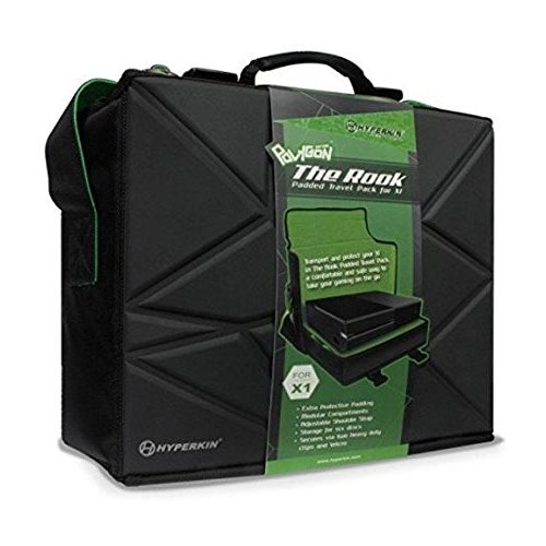 """Hyperkin Polygon """"The Rook"""" Travel Bag for Xbox One"""