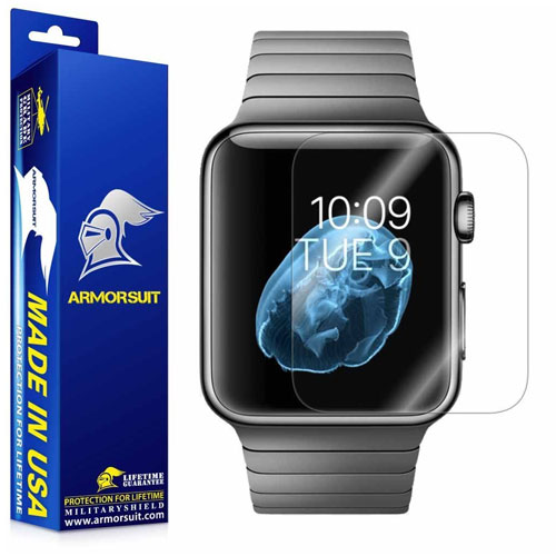 Armorsuit - Apple Watch Screen Protector MilitaryShield Full Coverage Screen Protector