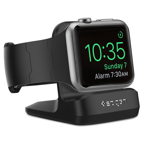 Spigen S350 Apple Watch Stand With Night Stand Mode for Apple Watch Charger
