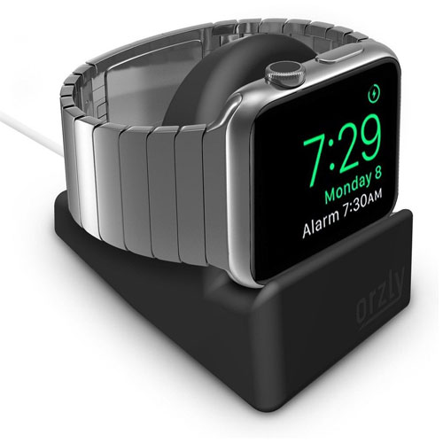 Orzly Compact Stand for Apple Watch BLACK Support Stand