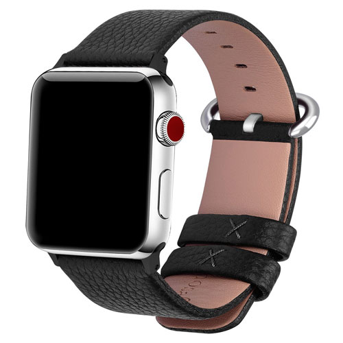 15 Colors for Apple Watch Bands 42mm and 38mm, Fullmosa Yan Calf Leather Replacement Band/Strap