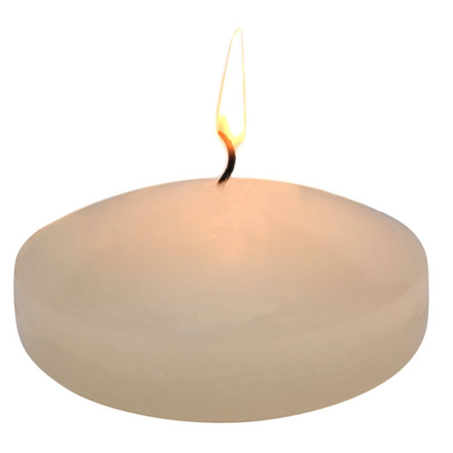 Floating disc Candles for Wedding, Birthday, Holiday & Home Decoration by Royal