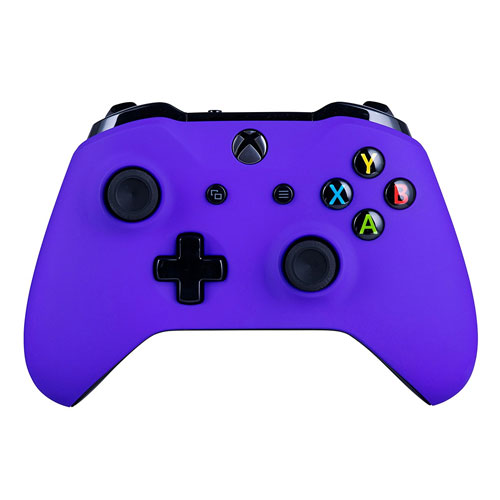 Xbox One S Wireless Controller for Microsoft Xbox One - Soft Touch Purple X1