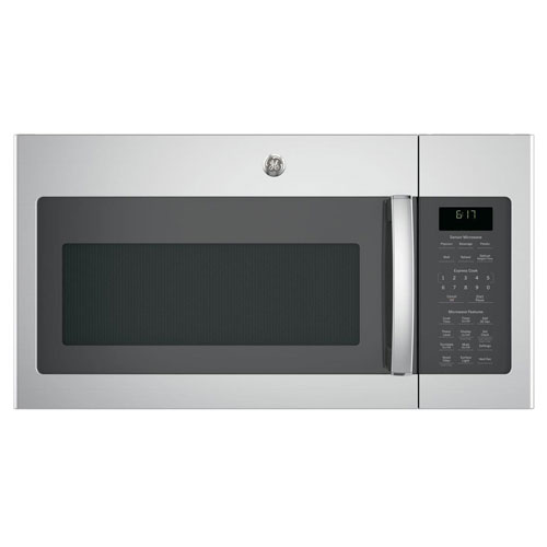 """GE JVM6175SKSS 30"""" Over-the-Range Microwave Oven in Stainless Steel"""