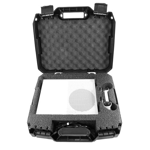 Protective Travel Carry Case For Xbox One S and Power Cables Carrying case