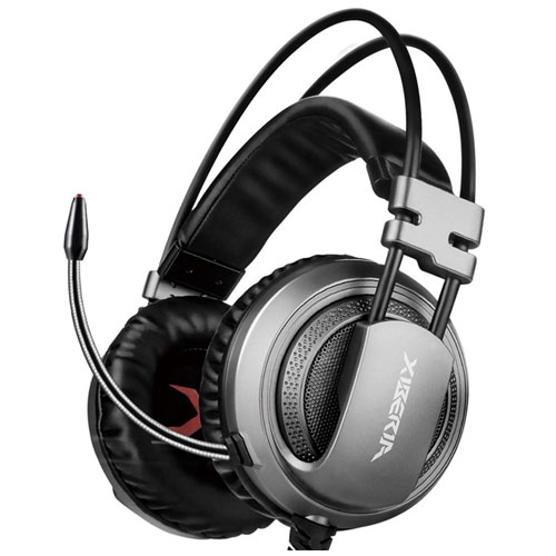 XIBERIA 3.5mm Surround Sound Gaming Headset Noise Isolation Wired Over-Ear Stereo Headphones